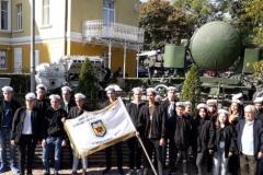 Посещение на ученици от Представителния дунавски флотски отряд към ПГРКК на Военноморското училище във Варна